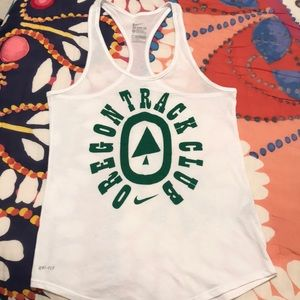 NIKE Racerback tank - Oregon Track and Field